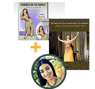 The Bellydance Competition Handbook & Shimmies on the Downs