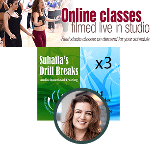 Suhaila Level 1 Drill Breaks x3 + One Month Free Trial of Suhaila's Online School