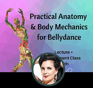 Practical Anatomy & Body Mechanics for Bellydance