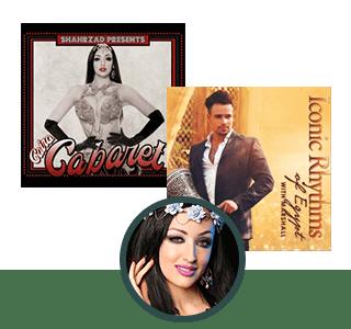 Cairo Cabaret & Iconic Rhythms of Egypt Digital CD's